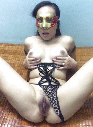 Nude Asian Stepmom