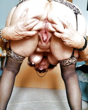 Nude Asian Grandma
