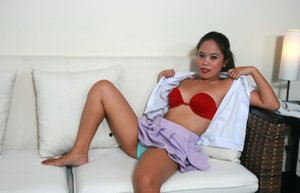 Nude Asian Student