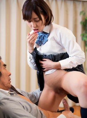 Asian Teen and Oldman