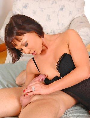 Nude Asian Handjob