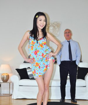 Asian Teen and Oldman